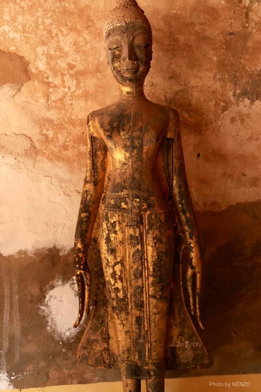 シーサケット寺院-仏像