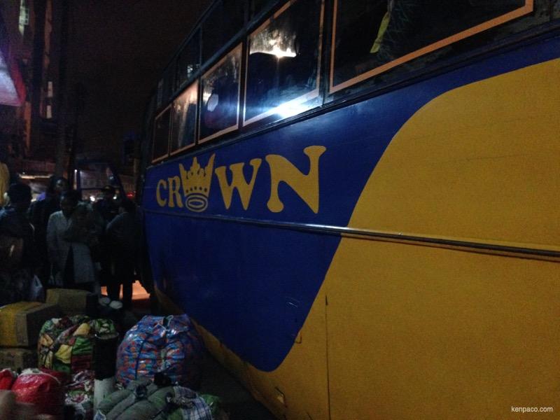 ケニア,ムバレ,CROWN,長距離バス