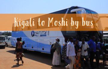 ルワンダ,タンザニア,キガリ,カハマ,モシ,国境越え,バス移動