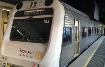 transwa,電車移動,マーガレットリバー
