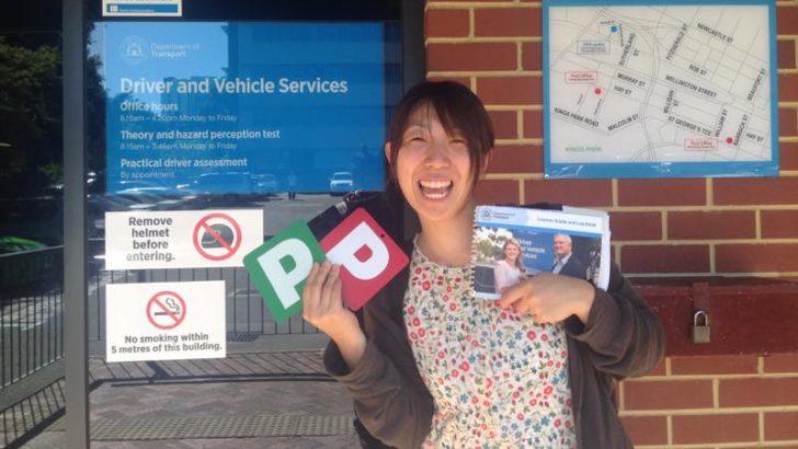 オーストラリア,西オーストラリア,免許取得,パース,ドライビングライセンス,運転免許,
